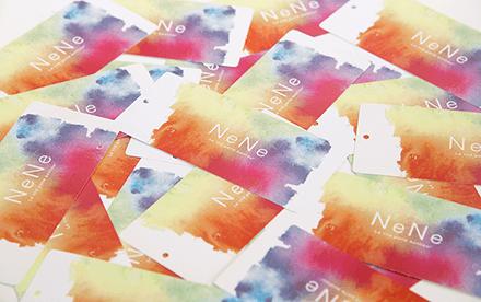 neneロゴデザイン|ショップカード